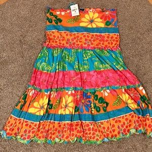 NWT Ralph Lauren Bright Floral Skirt Size Medium